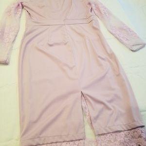 Lavender dress size xl